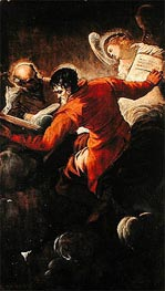Evangelists Luke and Matthew, 1557 by Tintoretto | Painting Reproduction