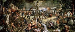 The Crucifixion of Christ, 1565 by Tintoretto | Painting Reproduction