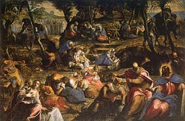 The Israelites in the Desert, c.1593 by Tintoretto | Painting Reproduction