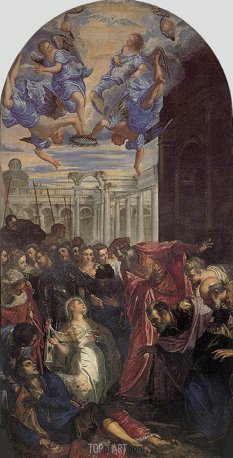 Tintoretto | The Miracle of St. Agnes, c.1563
