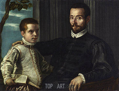 Tintoretto | Portrait of a Nobleman with his Son, undated