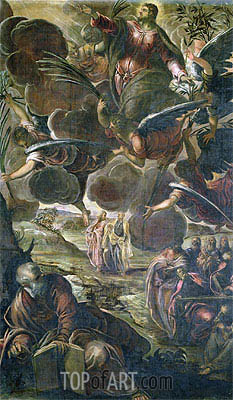 The Ascension of Christ,  | Tintoretto | Painting Reproduction