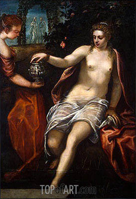 Susanna, c.1575 | Tintoretto | Painting Reproduction
