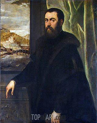 Tintoretto | Portrait of a Venetian Senator, c.1570