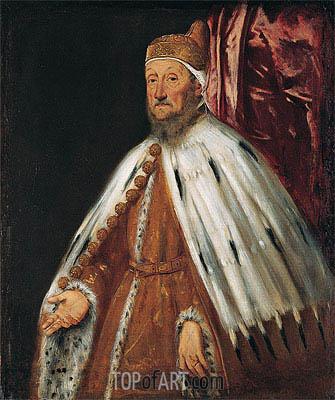 Tintoretto | Portrait of Doge Pietro Loredan, c.1567/70