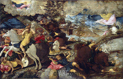 Tintoretto | The Conversion of Saint Paul, c.1545