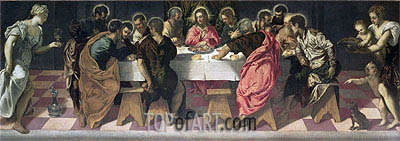 Tintoretto | The Last Supper, 1547