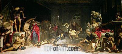 Tintoretto | St. Roch Healing the Plague, 1549
