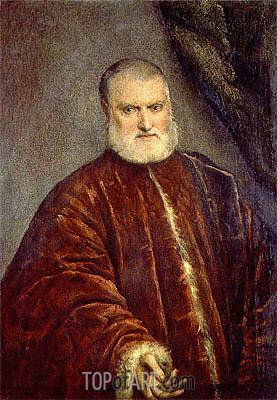 Tintoretto | Portrait of Procurator Antonio Cappello, c.1551
