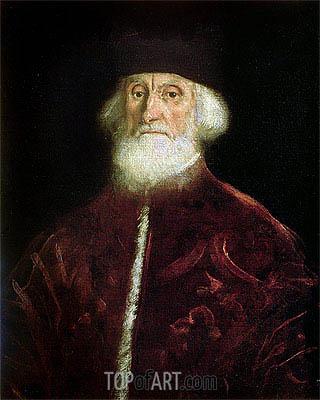 Tintoretto | Portrait of Procurator Jacopo Soranzo, c.1550