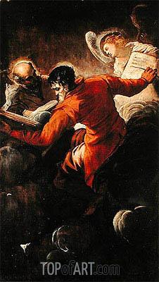 Tintoretto | Evangelists Luke and Matthew, 1557