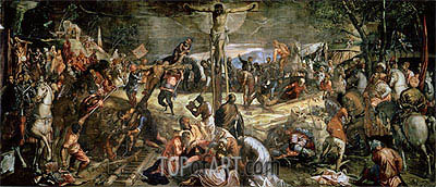 Tintoretto | The Crucifixion of Christ, 1565