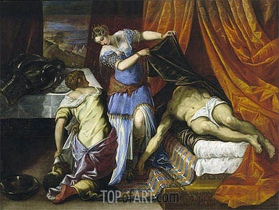 Tintoretto | Judith and Holofernes, c.1577