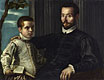 Portrait of a Nobleman with his Son | Jacopo Robusti Tintoretto