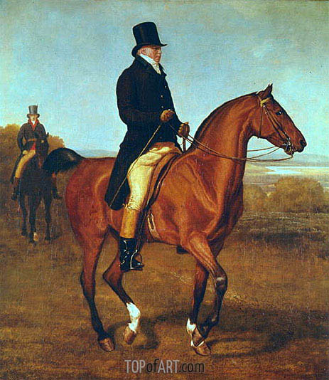 Lord Heathfield on Horseback, undated | Jacques-Laurent Agasse | Painting Reproduction