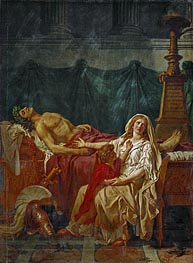 The Sorrow of Andromache, 1783 by Jacques-Louis David | Painting Reproduction