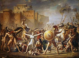 The Sabine Women, 1799 by Jacques-Louis David | Painting Reproduction
