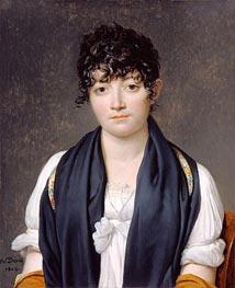 Portrait of Suzanne Le Peletier de Saint-Fargeau, 1804 by Jacques-Louis David | Painting Reproduction