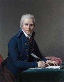 Portrait of Jacobus Blauw, 1795 by Jacques-Louis David | Painting Reproduction