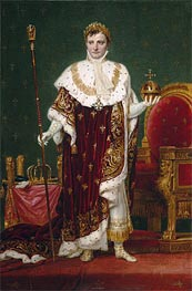 Emperor Napoleon I, 1807 by Jacques-Louis David | Painting Reproduction