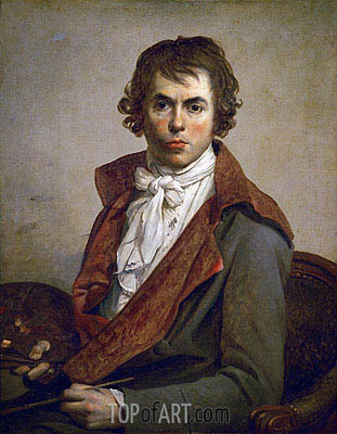 Jacques-Louis David | Self Portrait, 1794