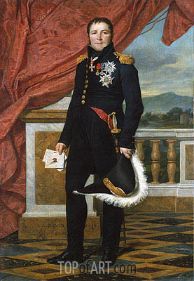 Jacques-Louis David | General Étienne-Maurice Gérard, Marshal of France, 1816