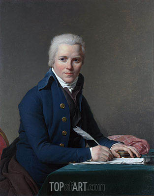 Jacques-Louis David | Portrait of Jacobus Blauw, 1795