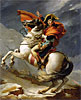 Napoleon Crossing the Alps on 20th May 1800 | Jacques-Louis David