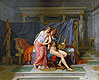 The Love of Paris and Helen | Jacques-Louis David