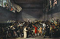 The Tennis Court Oath, 20th June 1789 | Jacques-Louis David
