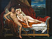 Cupid and Psyche | Jacques-Louis David