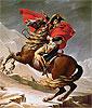 Napoleon überquert die Alpen | Jacques-Louis David