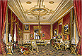 The Queen's Private Sitting Room, Windsor Castle | James Baker Pyne