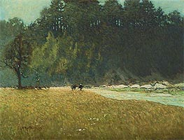 The Shining River, Early Spring, 1913 by James Edward Hervey Macdonald | Painting Reproduction