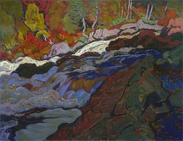 Batchewana Rapid, 1920 by James Edward Hervey Macdonald | Painting Reproduction