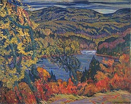Autumn in Algoma, 1922 by James Edward Hervey Macdonald | Painting Reproduction