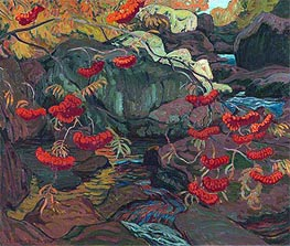 Rowanberries or Mountain Ash | James Edward Hervey Macdonald | Painting Reproduction