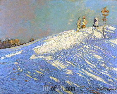 James Edward Hervey Macdonald | Morning Shadows, 1912