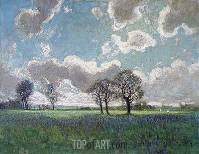 James Edward Hervey Macdonald | Spring Breezes, High Park, 1912