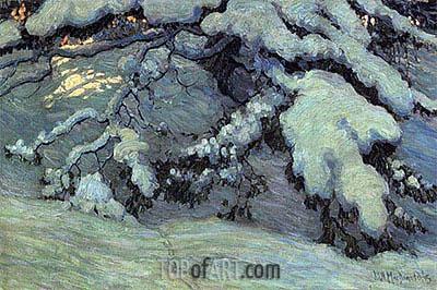 Snowbound, 1915 | James Edward Hervey Macdonald | Painting Reproduction