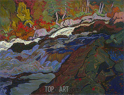 Batchewana Rapid, 1920 | James Edward Hervey Macdonald | Painting Reproduction