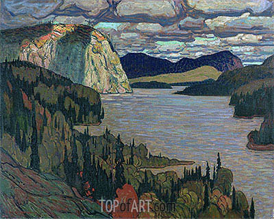 The Solemn Land, 1921 | James Edward Hervey Macdonald| Painting Reproduction