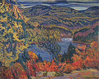 Autumn in Algoma, 1922 | James Edward Hervey Macdonald | Painting Reproduction