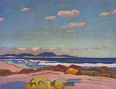James Edward Hervey Macdonald | Seashore, Nova Scotia, 1923