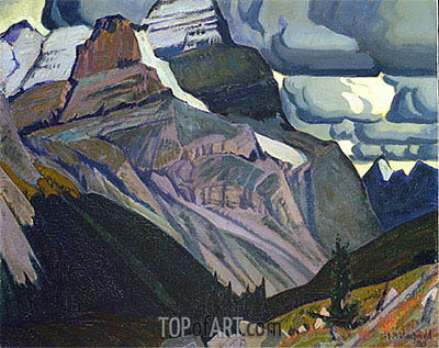 Dark Autumn, Rocky Mountains, 1930 | James Edward Hervey Macdonald | Painting Reproduction