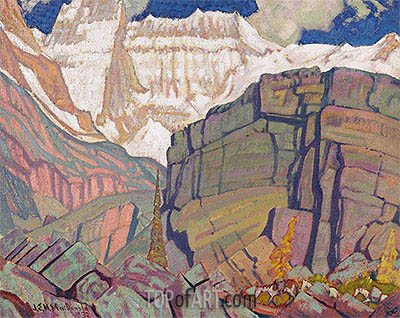 Mount Lefroy, 1932 | James Edward Hervey Macdonald | Gemälde Reproduktion