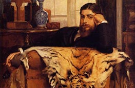 Algeron Moses Marsden, 1877 by Joseph Tissot | Painting Reproduction