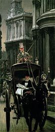 Going to Business (Going to the City), c.1879 by Joseph Tissot | Painting Reproduction