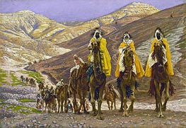 Journey of the Magi, c.1894 by Joseph Tissot | Painting Reproduction
