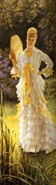 Spring (Specimen of a Portrait), c.1878 by Joseph Tissot | Painting Reproduction